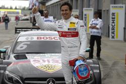 Polesitter Robert Wickens, Mercedes-AMG Team HWA, Mercedes-AMG C63 DTM