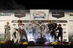 GTD podium: winners Connor de Phillippi, Christopher Mies, Sheldon van der Linde, Land-Motorsport, s