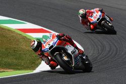 Хорхе Лоренсо, Ducati Team, Мікеле Пірро, Ducati Team