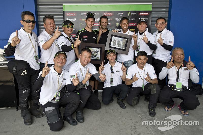 Jonathan Rea, Kawasaki Racing con aficionados