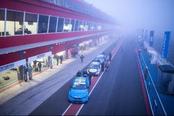 Nicky Catsburg, Polestar Cyan Racing, Volvo S60 Polestar nella nebbia