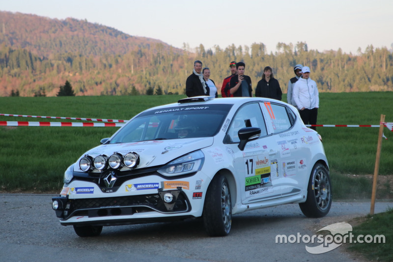 Ismaël Vuistiner, Florine Kummer, Renault Clio R3T