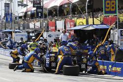 Alexander Rossi, Herta - Andretti Autosport Honda, pit stop