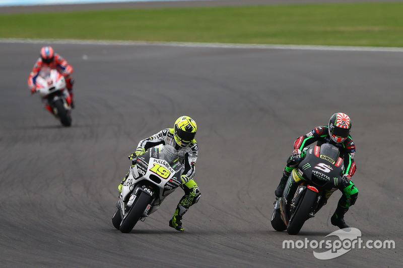 Johann Zarco, Monster Yamaha Tech 3; Alvaro Bautista, Aspar Racing Team