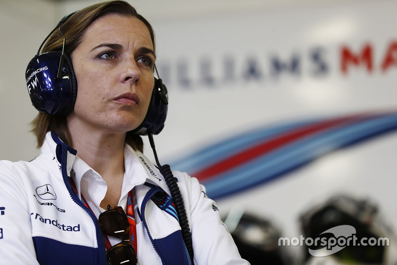 Claire Williams, Subdirectora de equipo, Williams