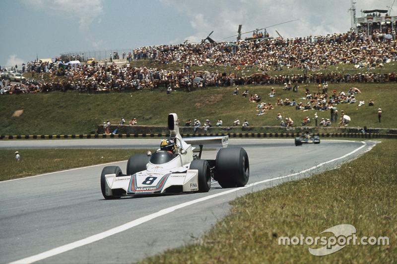 Ganador del GP de Brasil 1975: Carlos Pace, Brabham BT44B Ford