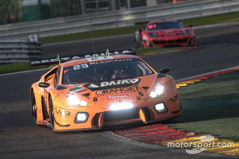#27 Orange 1 Team Lazarus Lamborghini Huracan GT3: Ніколя Полер, Фабріціо Крестані, Лука Філіппі