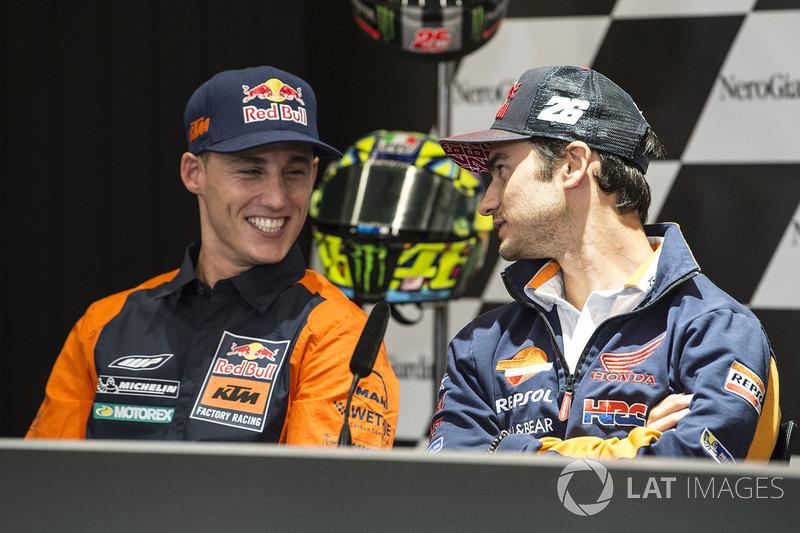 Dani Pedrosa, Repsol Honda Team, Pol Espargaro, Red Bull KTM Factory Racing