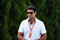 Ведущий Channel 4 F1 Карун Чандок