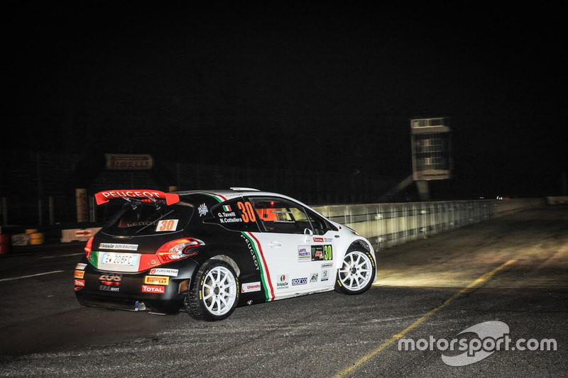 Gianluca Tavelli, Nicolo Cottellero, Peugeot 208 T16