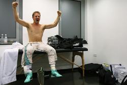 Nico Rosberg, Mercedes AMG F1 celebrates his World Championship