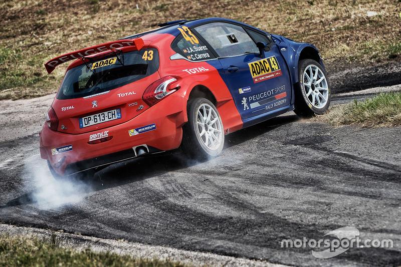 Jose Antonio Suárez, WRC, Peugeot