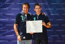 Jorge Lorenzo, fundación Laureus