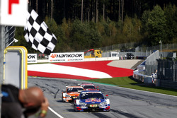Sieg für Mattias Ekström, Audi Sport Team Abt Sportsline, Audi A5 DTM