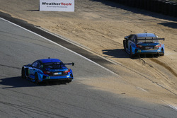 #14 3GT Racing Lexus RCF GT3: Скотт Пруетт, Сейдж Карам, #15 3GT Racing Lexus RCF GT3: Скотт Пруетт,