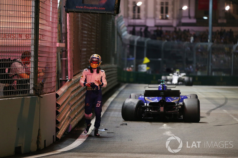 Marcus Ericsson, Sauber C36 (7 abandonos)