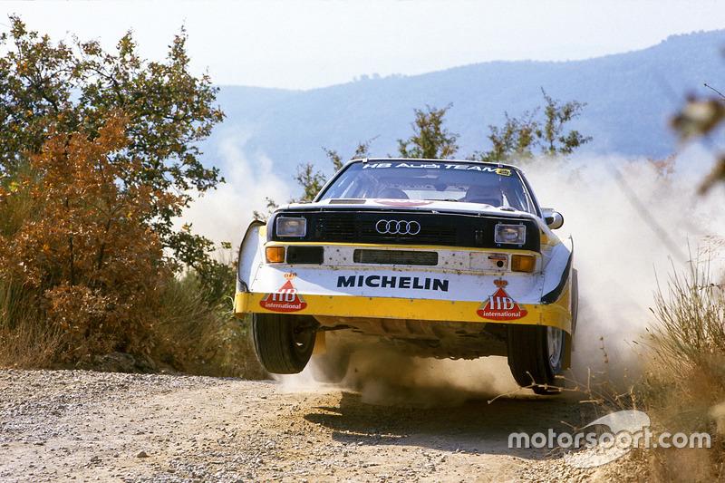 Walter Rohrl, Christian Geistdorfer, Audi Sport Quattro S1