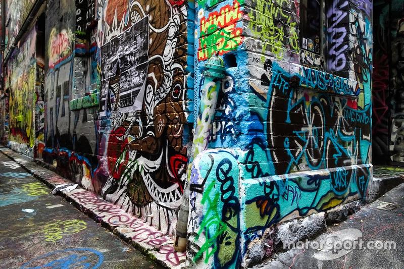 Straßenkunst in Melbourne