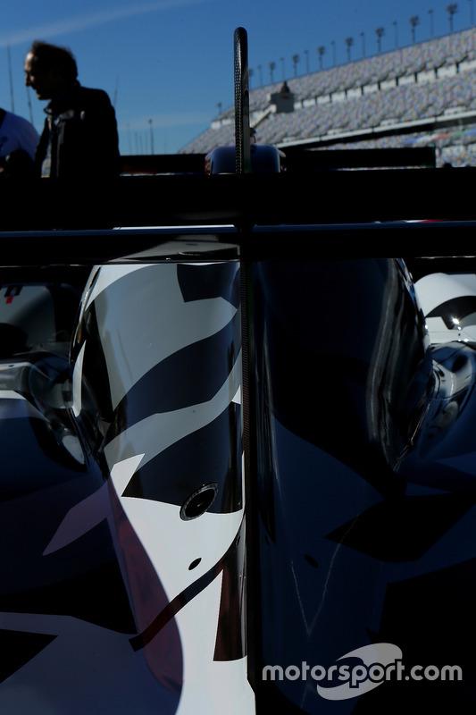 Detail: #13 Rebellion Racing, ORECA 07: Neel Jani, Sébastien Buemi, Stéphane Sarrazin, Nick Heidfeld