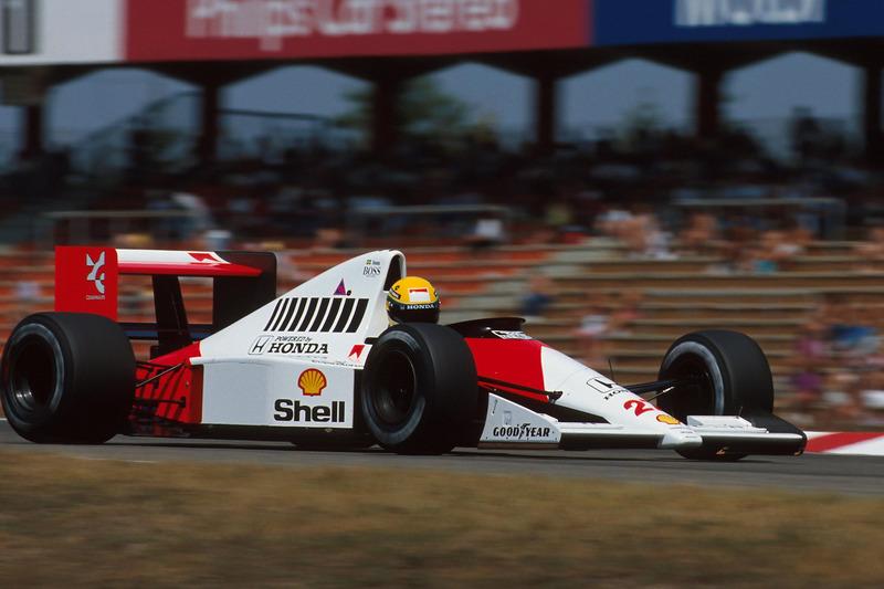 1990 Almanya: McLaren MP4/5B