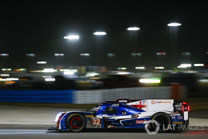 #32 United Autosports Ligier LMP2, P: Вілл Оуен, Уго де Заделер, Бруно Сенна, Пол ді Реста