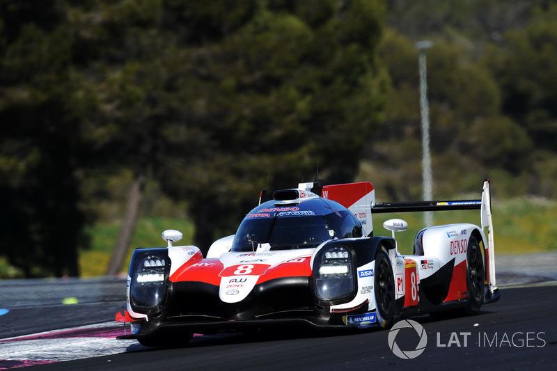 #8 Toyota Gazoo Racing Toyota TS050: Sébastien Buemi, Mike Conway