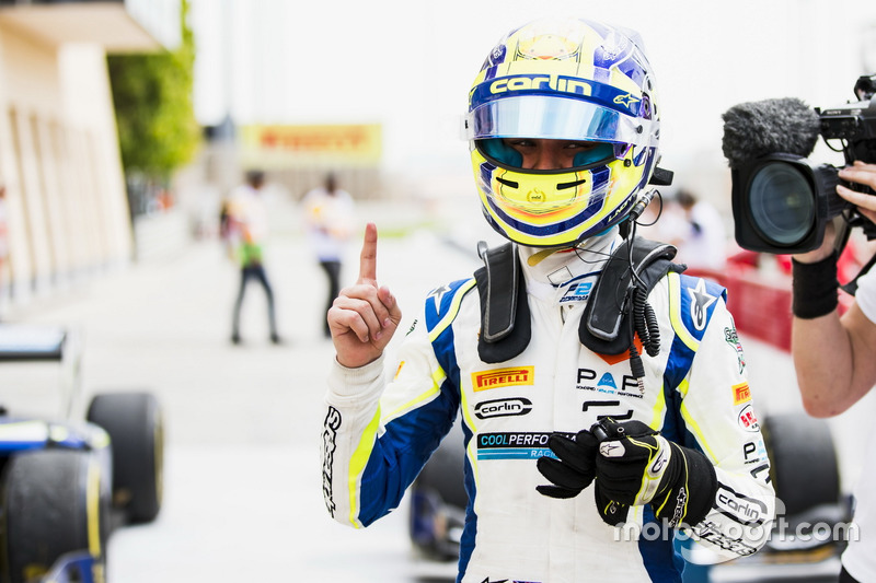Race winner Lando Norris, Carlin
