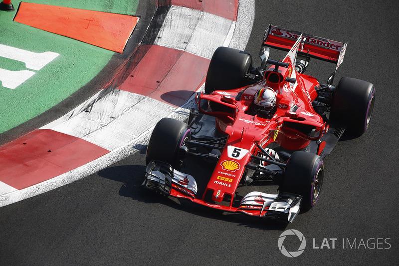 1º Sebastian Vettel, Ferrari SF70H