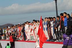 Honda Racing THANKS, церемония