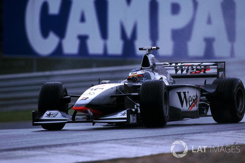 1998 год: Мика Хаккинен, Mclaren MP4-13
