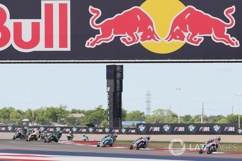 Fabio Di Giannantonio, Del Conca Gresini Racing Moto3, Jorge Martin, Del Conca Gresini Racing Moto3, Aron Canet, Estrella Galicia 0,0
