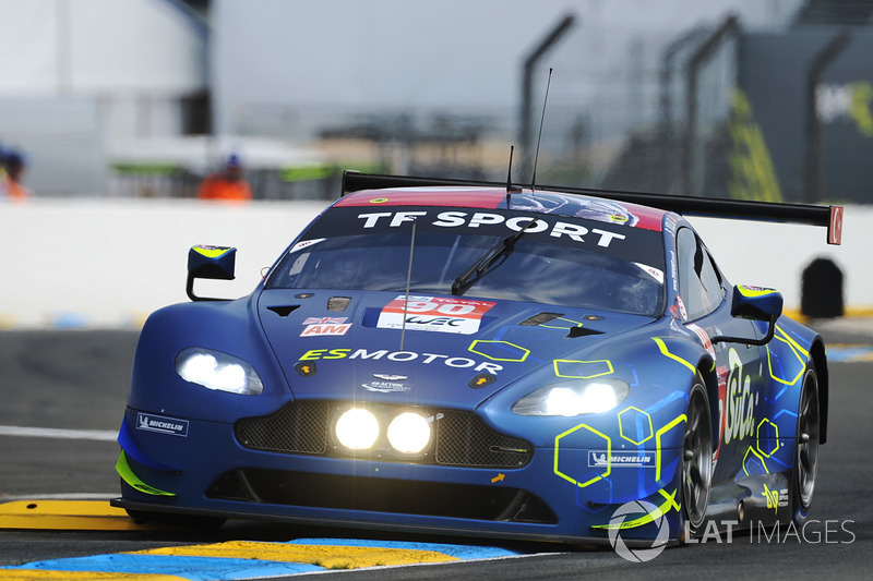 52: #90 TF Sport Aston Martin Vantage: Salih Yoluc, Euan Hankey, Charlie Eastwood, 3'53.070