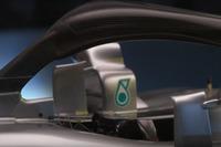 Mercedes AMG F1 W09, detalle del halo