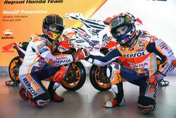 Гонщики Repsol Honda Team Марк Маркес и Дани Педроса