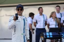 Felipe Massa, Williams at the Williams team photo