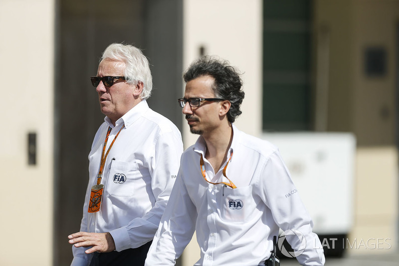 Charlie Whiting y Laurent Mekies