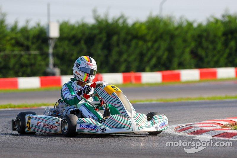 Sebastian Vettel - Tony Karts, testy