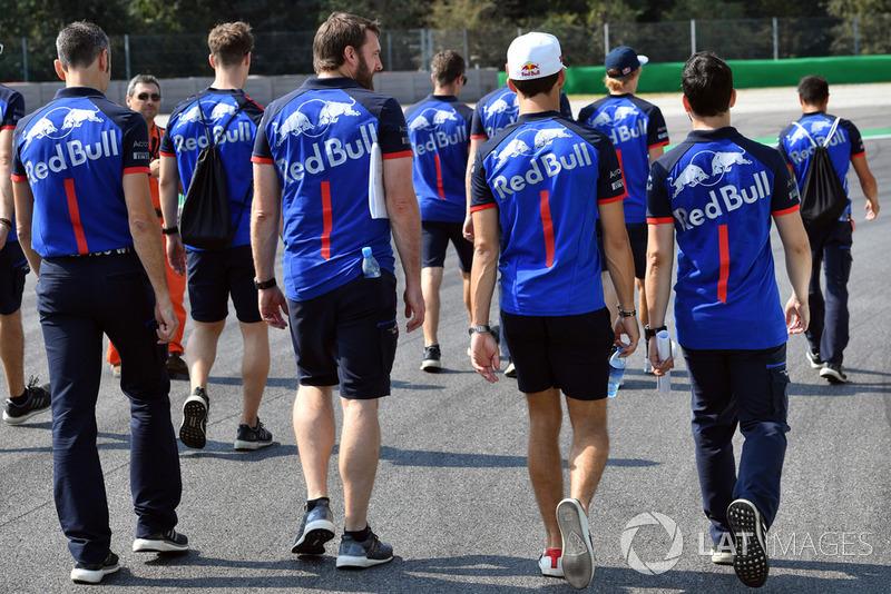 Brendon Hartley, Scuderia Toro Rosso e Pierre Gasly, Scuderia Toro Rosso