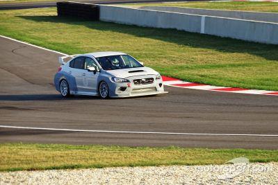 Shakedown Subaru WRX STI, Top Run
