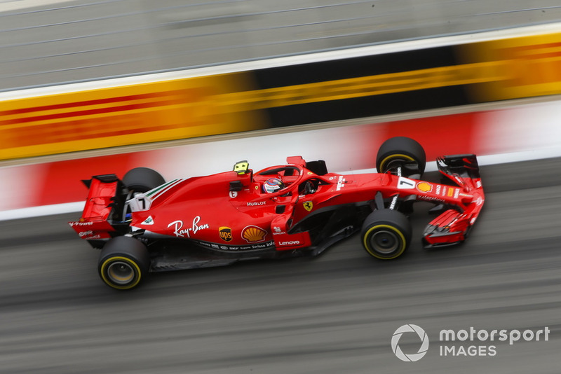 4: Kimi Raikkonen, Ferrari SF71H, 1'32.237