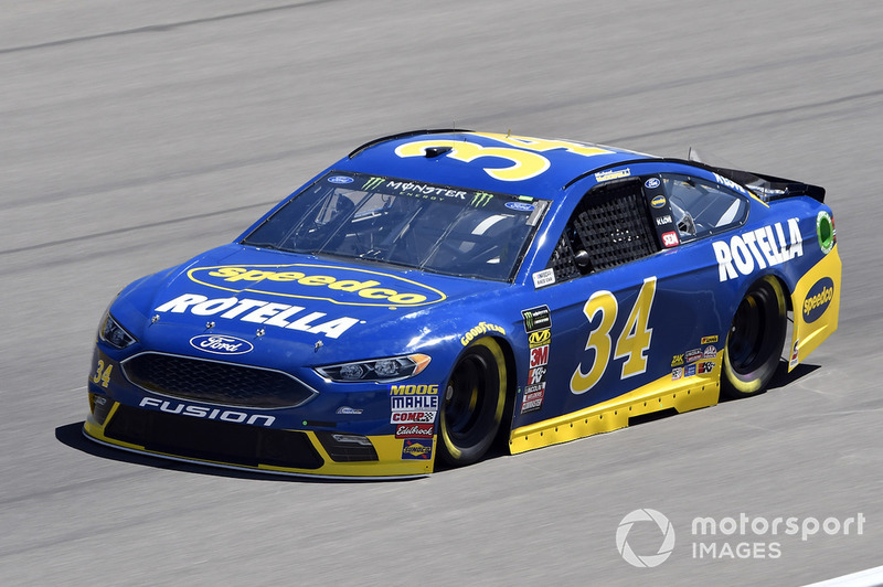24. Michael McDowell, Front Row Motorsports, Ford Fusion Speedco/Rotella