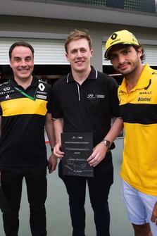 James Gourlie, Infiniti Engineering Academy, Carlos Sainz Jr., Renault Sport F1 Team