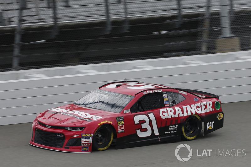 6. Ryan Newman, Richard Childress Racing, Chevrolet Camaro Grainger