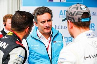 Alejandro Agag, CEO, Formula E with Sébastien Buemi, Nissan e.Dams, Stoffel Vandoorne, HWA Racelab
