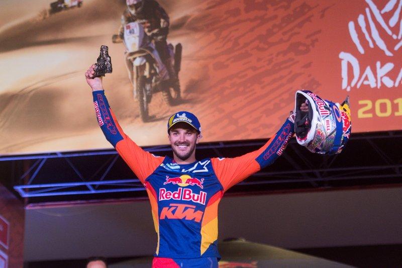 3. #14 Red Bull KTM Factory Racing: Сем Сандерленд