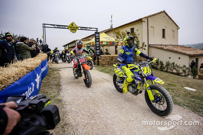 Valentino Rossi en acción