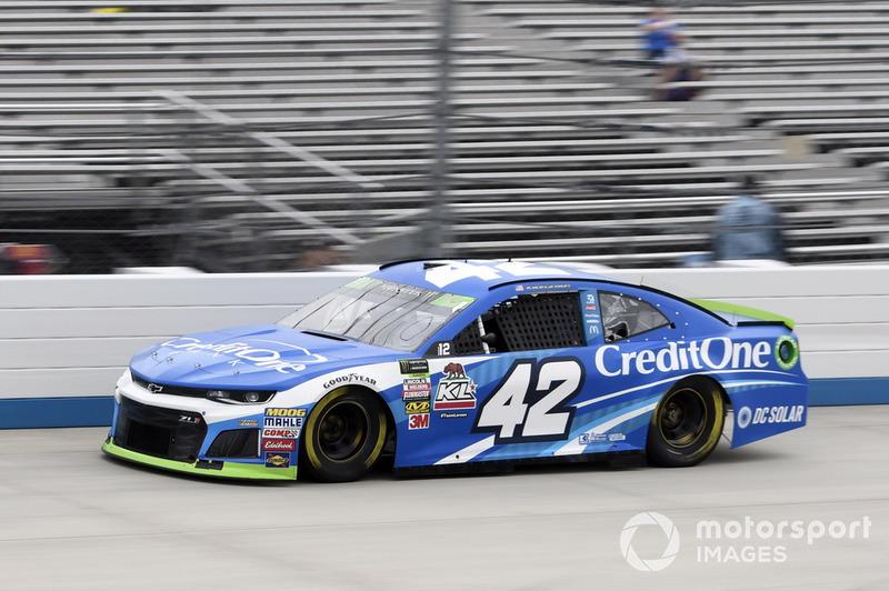 10. Kyle Larson, Chip Ganassi Racing, Chevrolet Camaro Credit One Bank