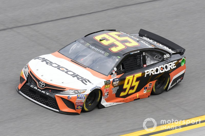 9. Matt DiBenedetto, Leavine Family Racing, Toyota Camry Procore