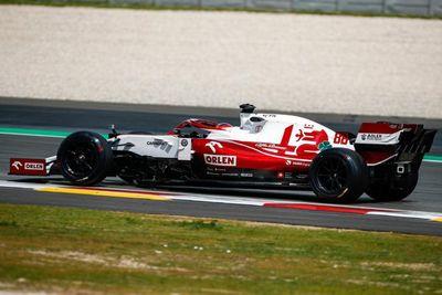 Pirelli-Reifentest: Alfa Romeo in Barcelona