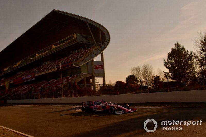 Lance Stroll, Racing Point F1 Team RP19 sparks